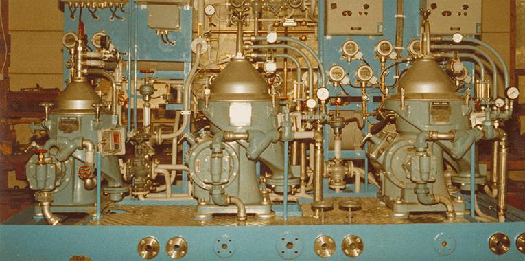 Auramarine history separator unit