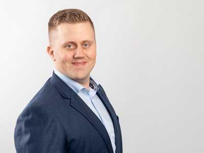 Simo Pietilä, CFO Auramarine