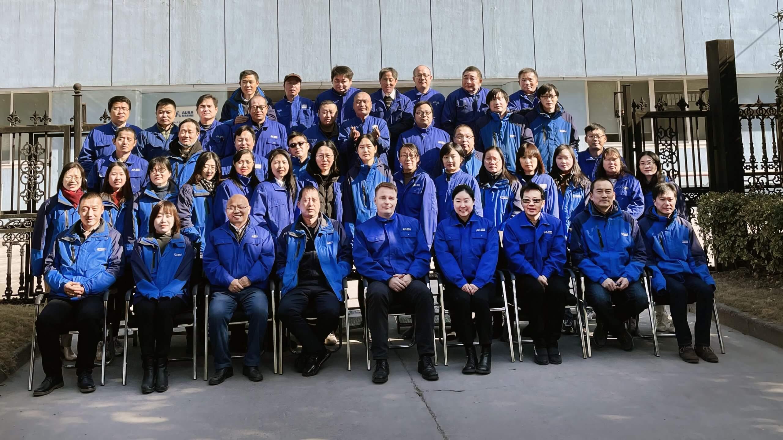 Auramarine Asia Shanghai personnel