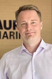Tomi Julin, General Manager Auramarine Asia