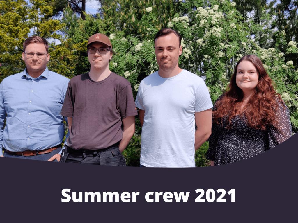 Auramarine summer trainees 2021
