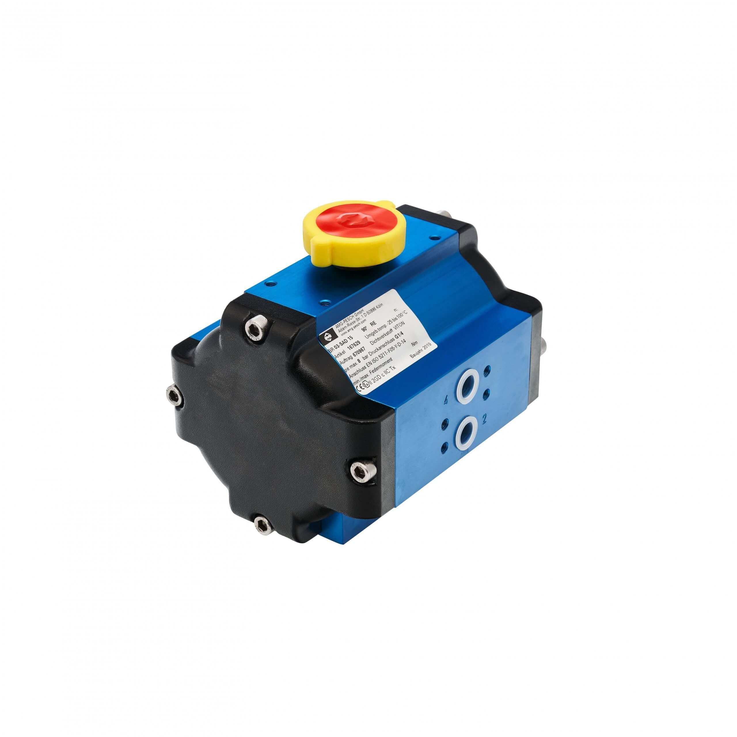 Filters - Pneumatic actuator