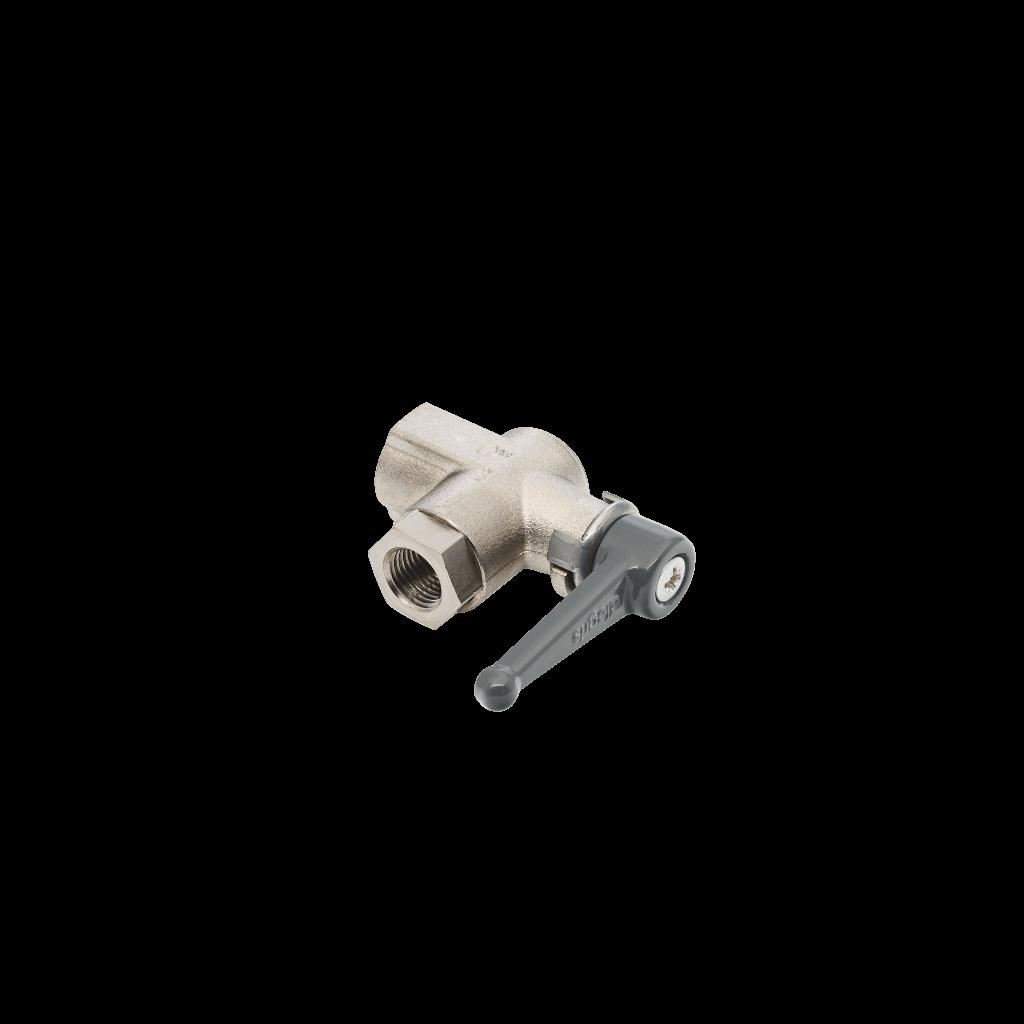 Filters - Pressure indicator shut-off ball valve, brass