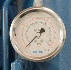 Genuine Auramarine spare parts _ pressure gauge